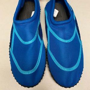 Norty- men's blue aquatic / swim shoes